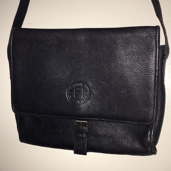 Fendi leather vintage handbag...70s?